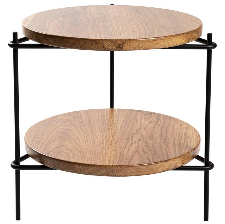 """Minimalist Brazilian Side Table """"Janice"""" by Samuel Lamas For Sale"""