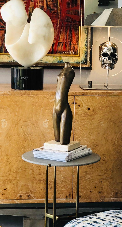 Modern Bronze Nude Sculpture by Hagar For Sale 3
