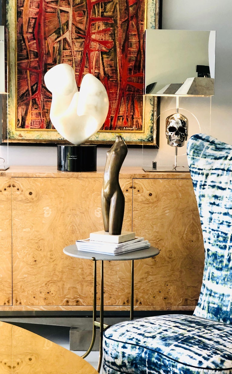 Modern Bronze Nude Sculpture by Hagar For Sale 4