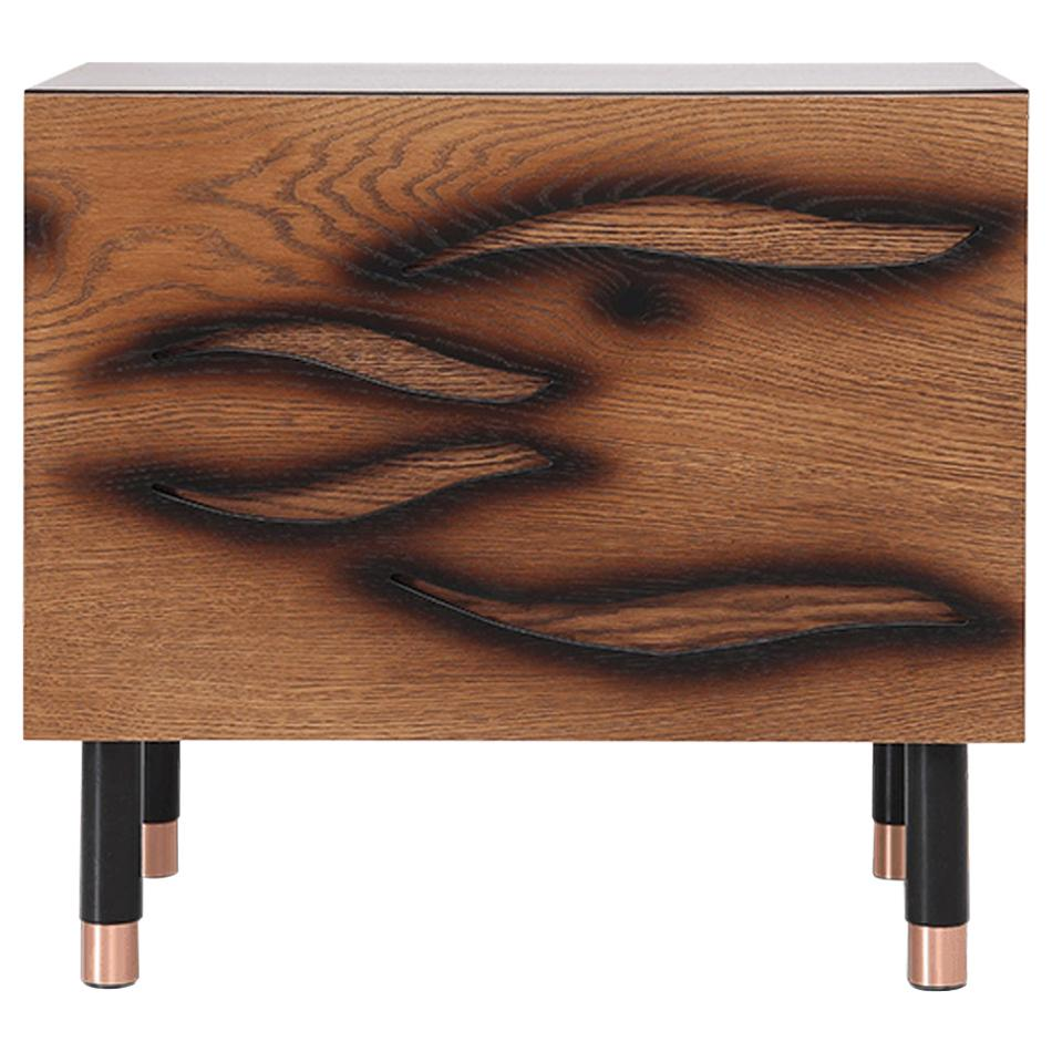 Modern Brown Bedroom Nightstand for Contemporary Interior