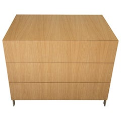 Modern Bureau in Figured White Oak, by Studio DiPaolo