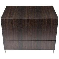 Modern Bureau in Fumed Ebony Oak, by Studio DiPaolo