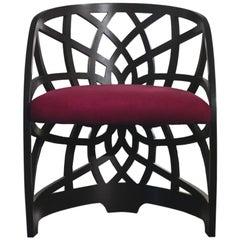 Modern by Giueseppe Carpanelli Galileo Pierced Small Armchair