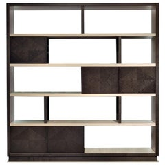 Modern by Giuseppe Carpanelli Desyo Bookcase Sycomoro Wood