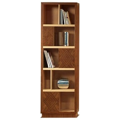 Modern by Giuseppe Carpanelli Desyo Cabinet with Small Doors in Canaletto Walnut