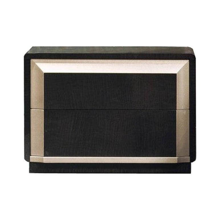 Modern by Giuseppe Carpanelli Galileo Bedside table Pama and Sycomoro For Sale