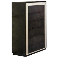 Modern by Giuseppe Carpanelli Galileo Cabinet Pama and Sycomoro Wood