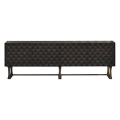 Modern by Giuseppe Carpanelli Square Inlaid Sideboard