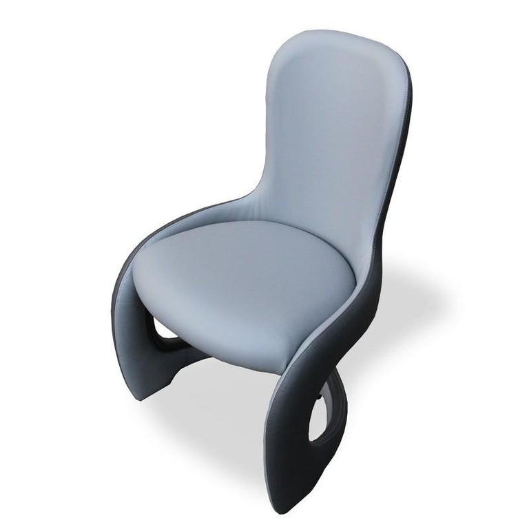 Modern by Giuseppe Carpanelli Venere Padded Dining Chair In New Condition For Sale In Desio, IT