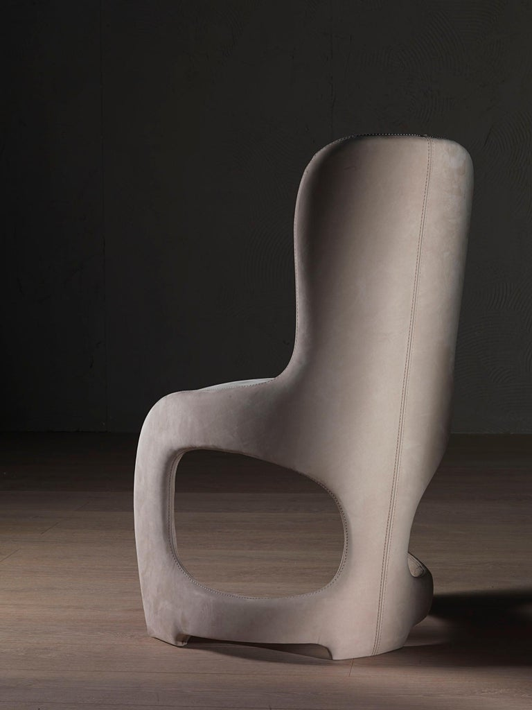 Modern by Giuseppe Carpanelli Venere Padded Dining Chair For Sale 1
