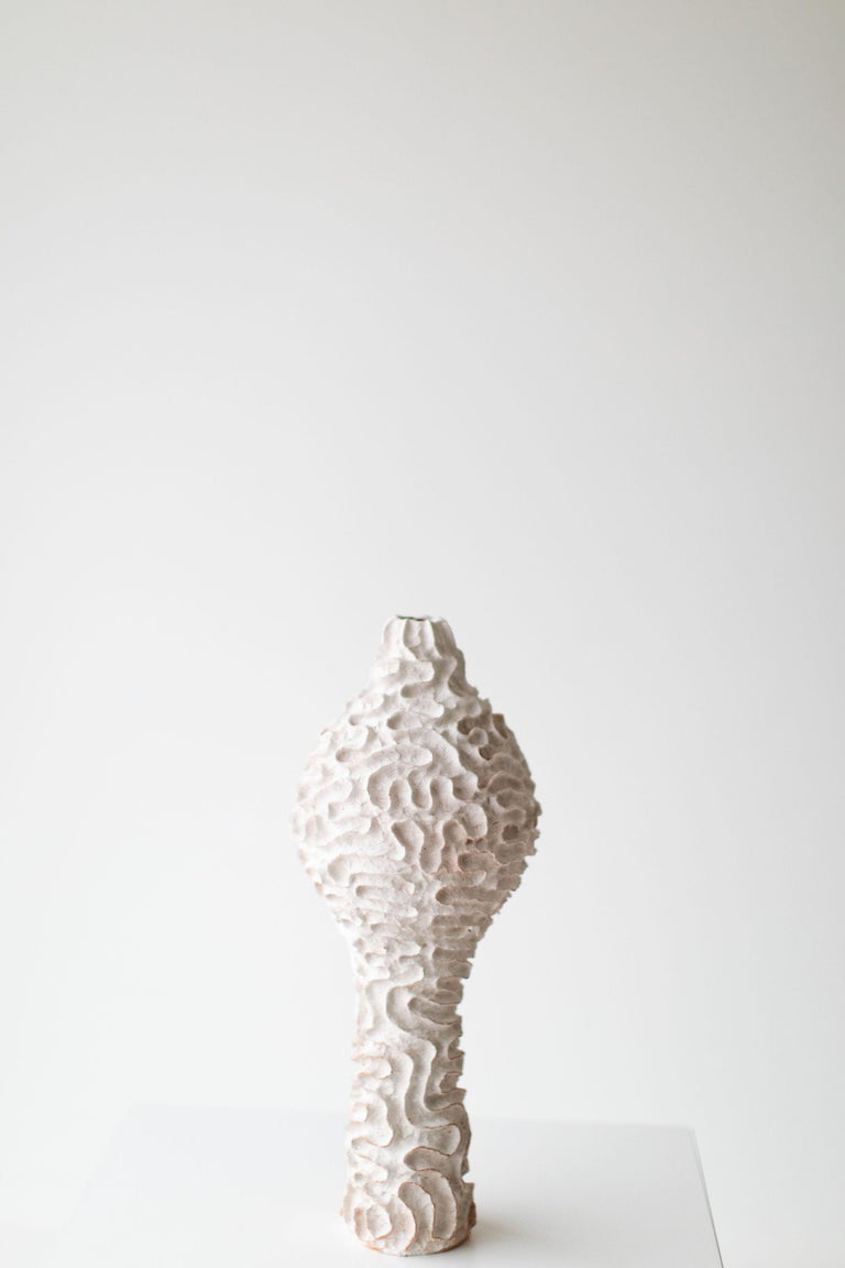 Contemporary Modern Ceramic Vase by Suzy Goodelman for Craft Associates Furniture, 1910-SG For Sale
