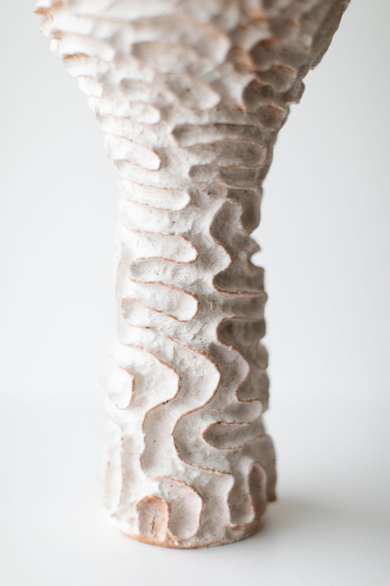 Clay Modern Ceramic Vase by Suzy Goodelman for Craft Associates Furniture, 1910-SG For Sale