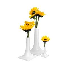 Modern Ceramic Vase Set, Centerpiece, Table Scape, USA Pandemic Design Studio