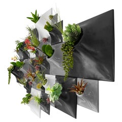 Modern Ceramic Wall Planter Living Wall Art, USA Pandemic Design Studio