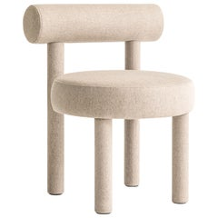 Modern Chair Gropius CS1 in Wool Fabric by Noom