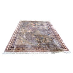 Modern Chinese Imperial Jewel Handwoven  Silk Carpet