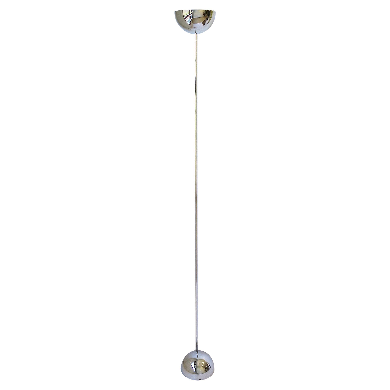 Modern Chrome Floor Lamp, 1970s