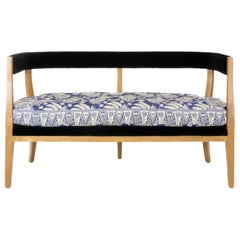 Modern Classic Curved Back Bench