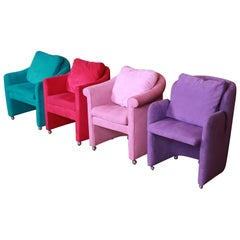 Modern Club Chairs by Preview, Set of Four