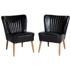 Modern Cocktail Chairs, France, circa 1950