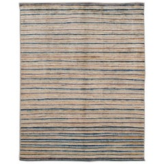 Modern Colorful Moroccan-Style Room Size Wool Rug