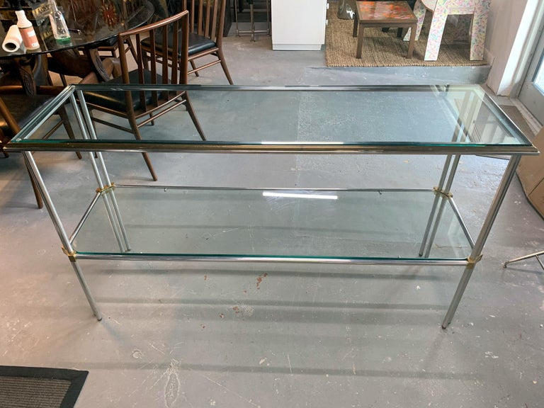 Modern Console Table by John Vesey In Good Condition For Sale In North Miami, FL