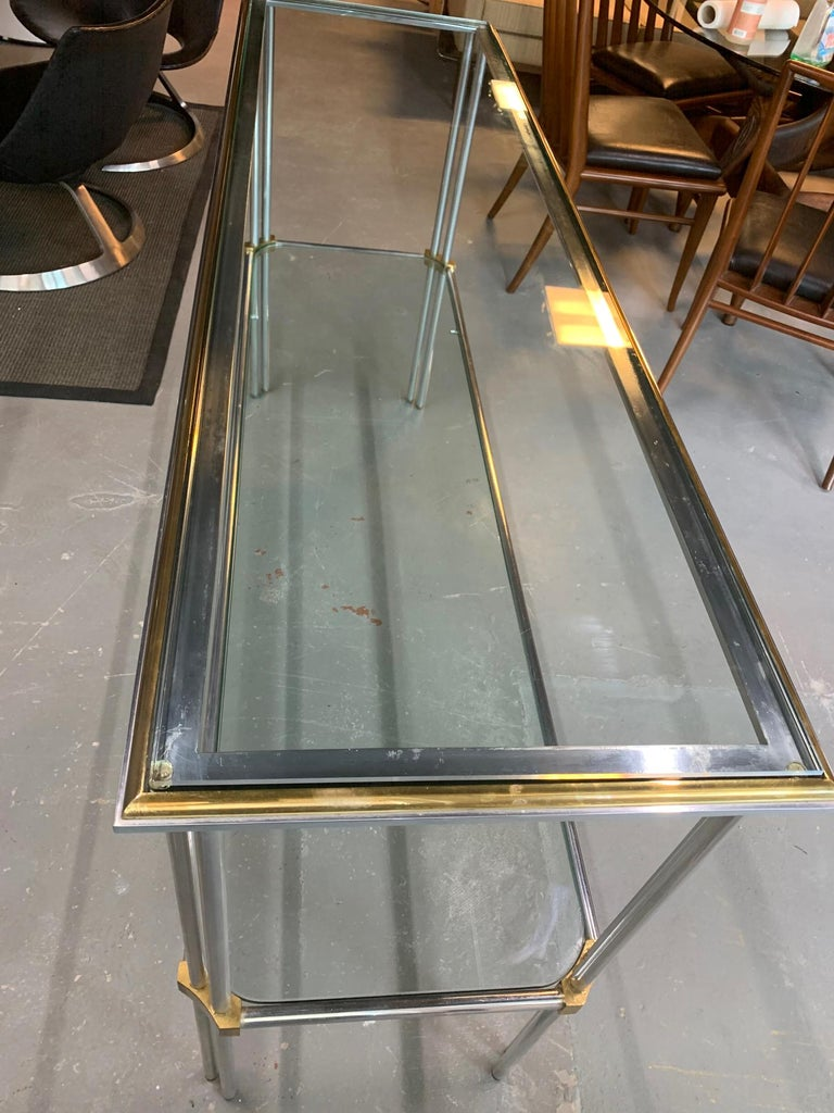20th Century Modern Console Table by John Vesey For Sale