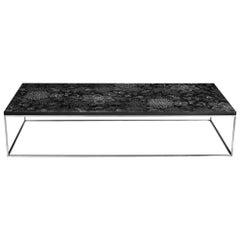 Modern Contemporary Nail Inlay Coffee Table No. 14 by Peter Sandback