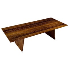 Modern Contemporary Nail Inlay Coffee Table No. 18 by Peter Sandback