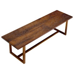 Modern Contemporary Nail Inlay Coffee Table No. 19 by Peter Sandback