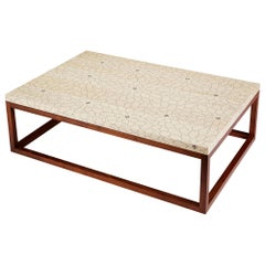 Modern Contemporary Nail Inlay Coffee Table No. 24 by Peter Sandback