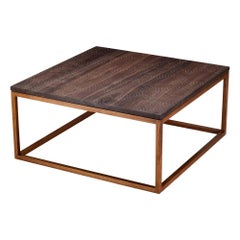 Modern Contemporary Nail Inlay Coffee Table No. 33 by Peter Sandback