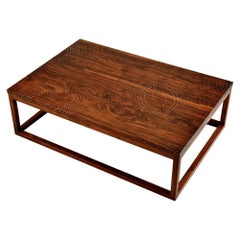 Modern Contemporary Nail Inlay Coffee Table No. 37 by Peter Sandback