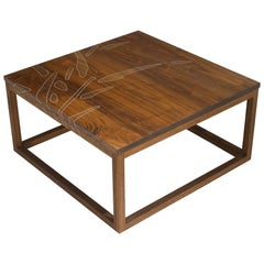 Modern Contemporary Nail Inlay Coffee Table No. 45 by Peter Sandback