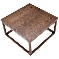 Modern Contemporary Nail Inlay Coffee Table No. 46  by Peter Sandback