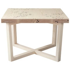 Modern Contemporary Nail Inlay End Table No. 202 by Peter Sandback