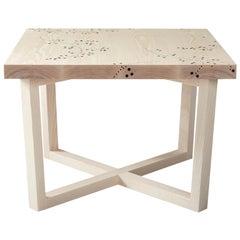 Modern Contemporary Nail Inlay End Table No. 202 by Peter Sandback
