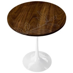 Modern Contemporary Nail Inlay End Table No. 206 by Peter Sandback