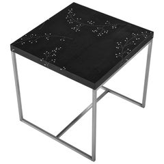 Modern Contemporary Nail Inlay End Table No. 218 by Peter Sandback