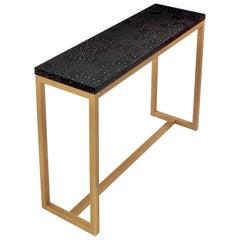 Modern Contemporary Nail Inlay Table No. 406 by Peter Sandback