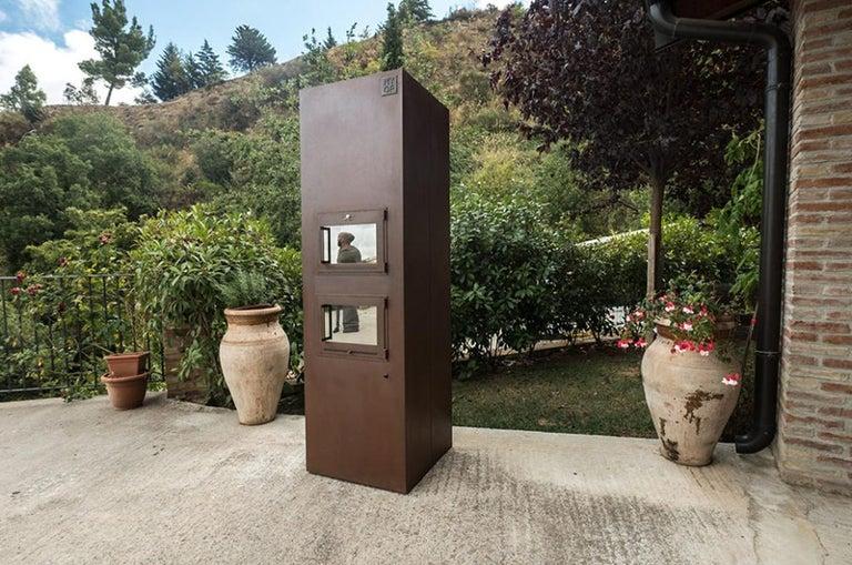 Stainless Steel Modern Corten Freestanding Oven, TOVEN For Sale