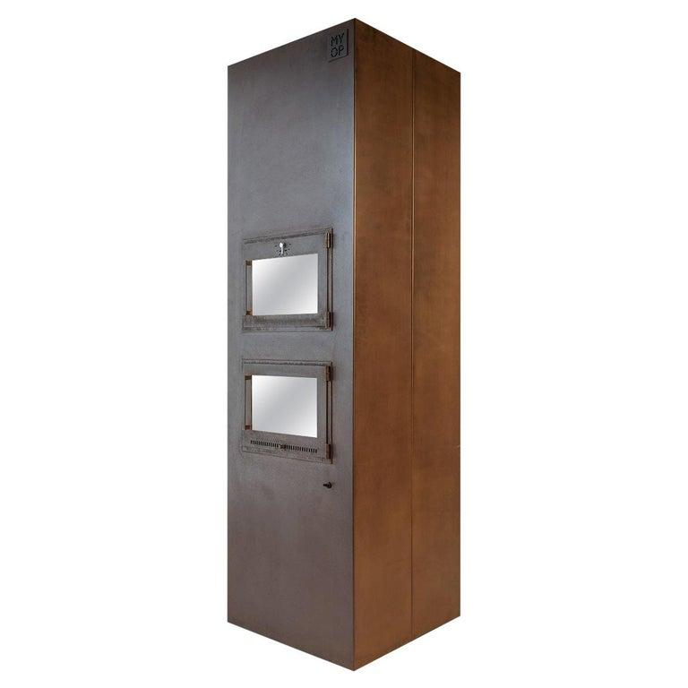 Modern Corten Freestanding Oven, TOVEN For Sale
