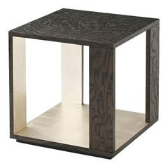 Modern Cube Side Table