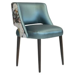Modern Curve Back Dining Chair