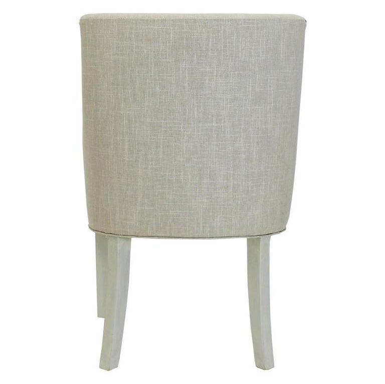Modern Customizable Dining Room Chair In New Condition For Sale In Westport, CT