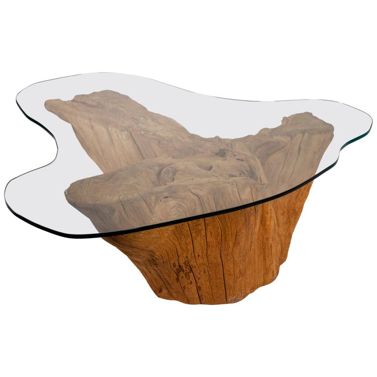 Tree Trunk Coffee Tables 24 For Sale On 1stdibs