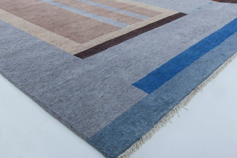 Modern Deco Designed Rug For Sale 4