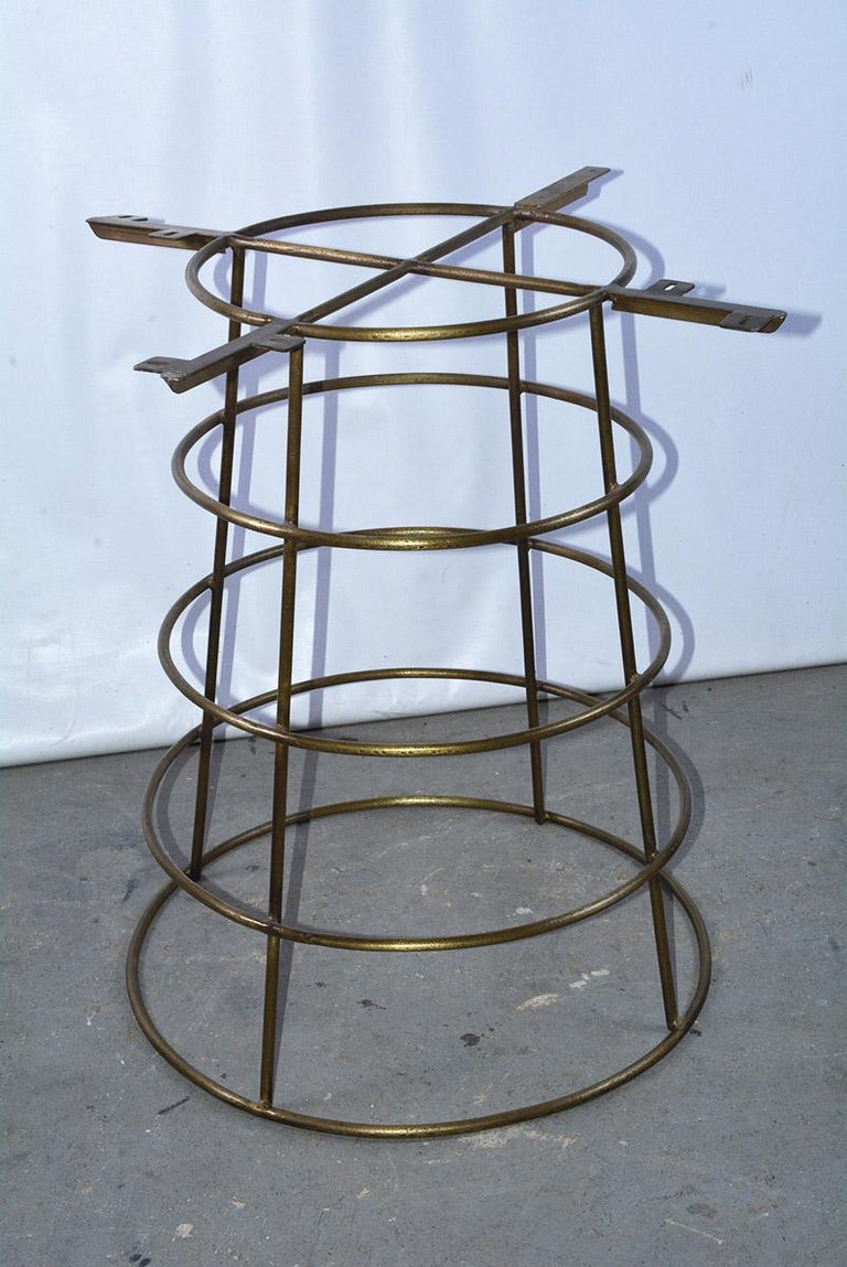 Contemporary Modern Deco Style Bar or Pub Table For Sale