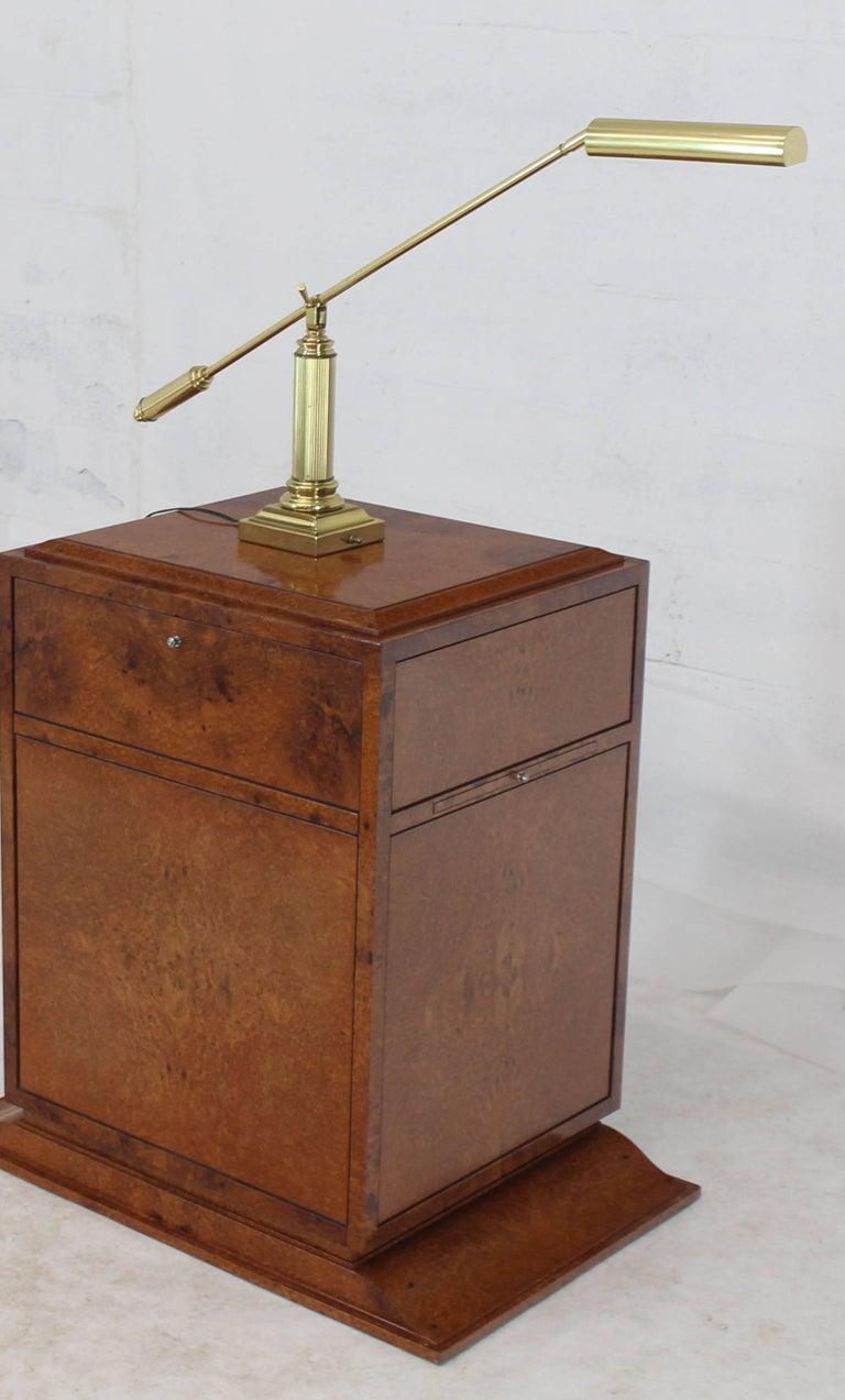 Modern Decorative Adjustable Long Arm Brass Table Desk ...