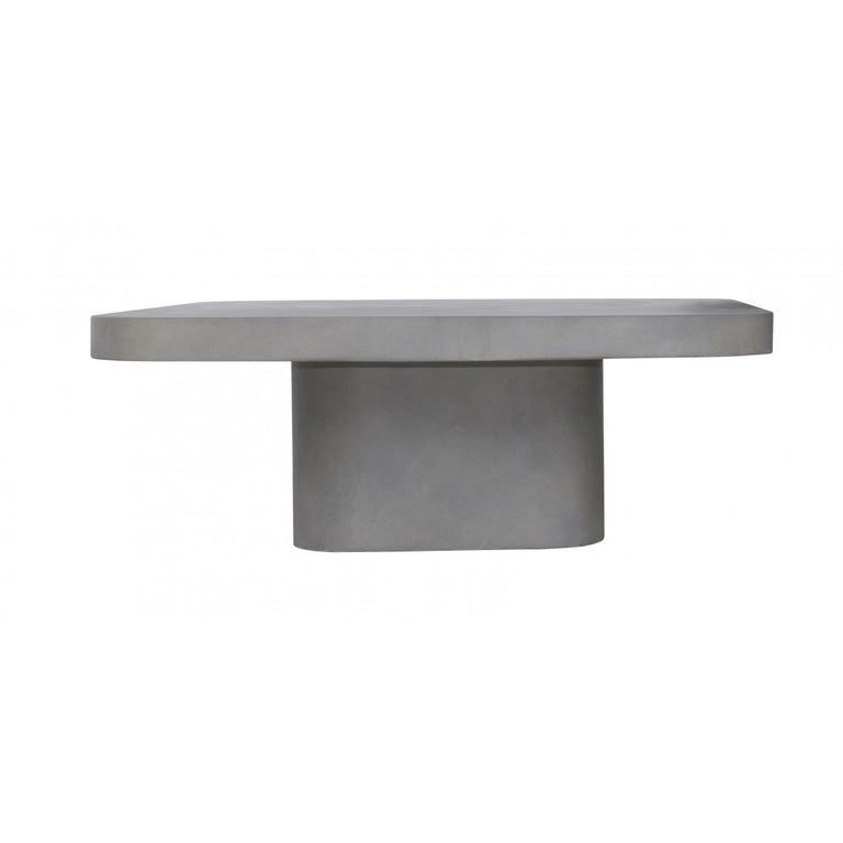 Mid-Century Modern Modern Design Concrete Coffee Table For Sale